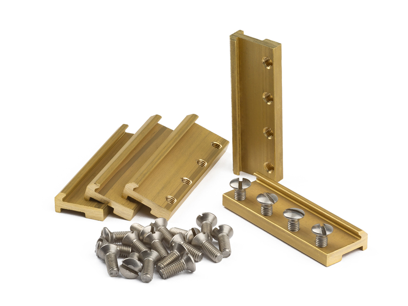 Massoth Rail Clamps 39mm Brass